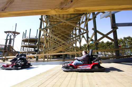 Riding the Cyclone at SpeedWorld