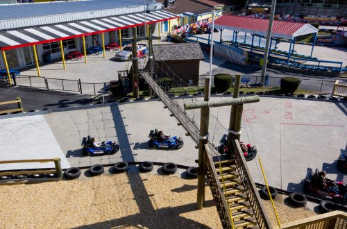 Cyclone Cart Coaster at SpeedWorld